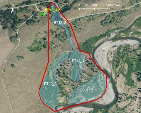 Buffalo Fork catchment