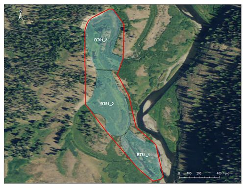 North Buffalo Fork catchment