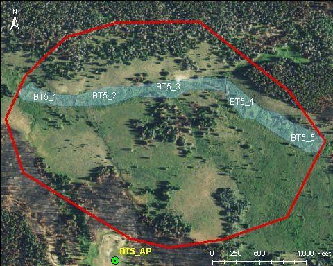 Snider Basin catchment