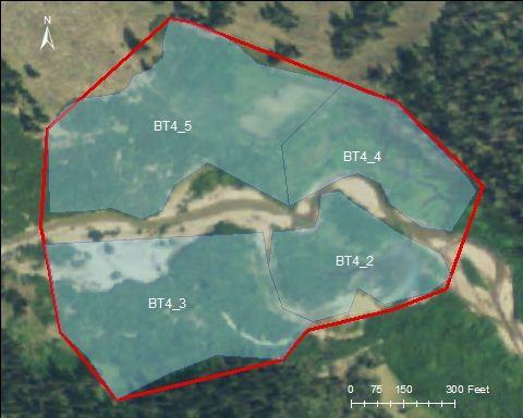 Upper Hoback catchment