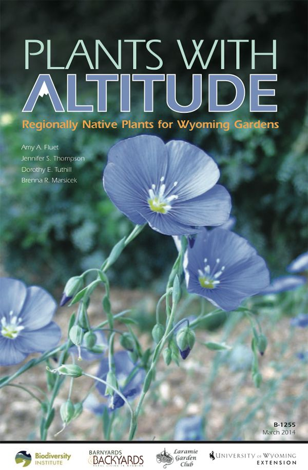 "Image of book cover for ""Plants with Altitude"""