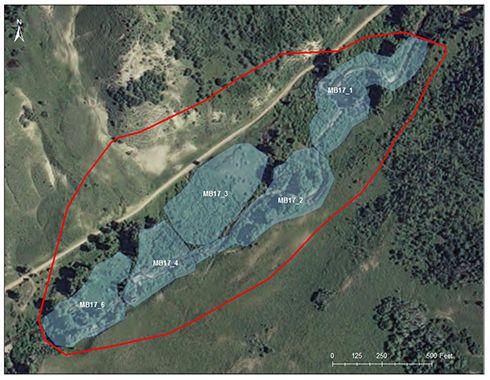Battle Creek catchment