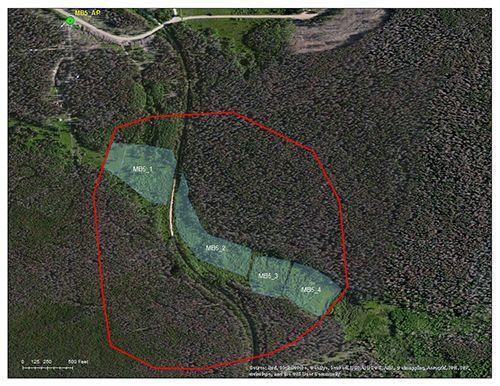 Squaw Creek catchment